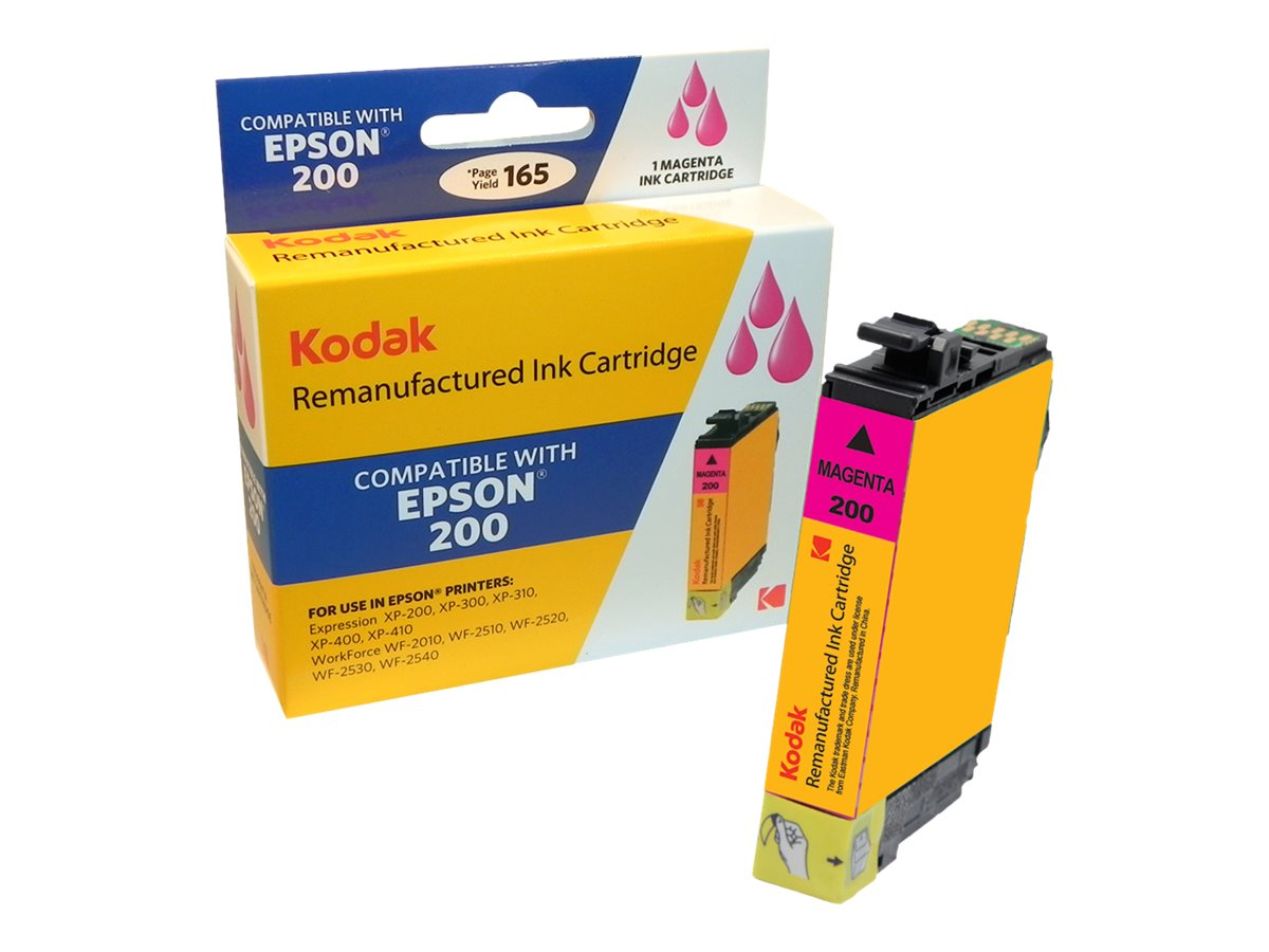 Kodak T200320 Magenta Ink Cartridge for Epson XP200, T200320-KD, 31286911, Ink Cartridges & Ink Refill Kits