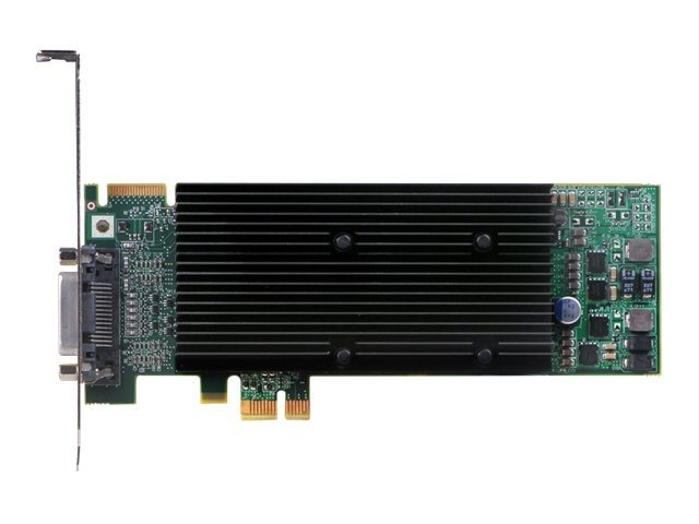 Matrox M9120 Plus LP Graphics Card, PCI Express, 512MB, M9120-E512LAU1F, 8786255, Graphics/Video Accelerators