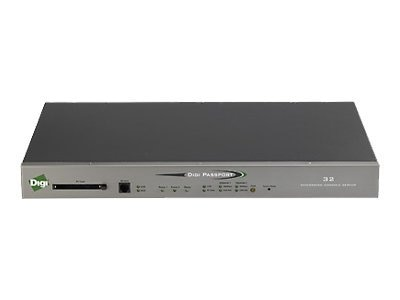 Digi PassPort 16 Console Server with KVM 16 RJ-45 Serial Ports, 70002260, 7095874, Remote Access Servers