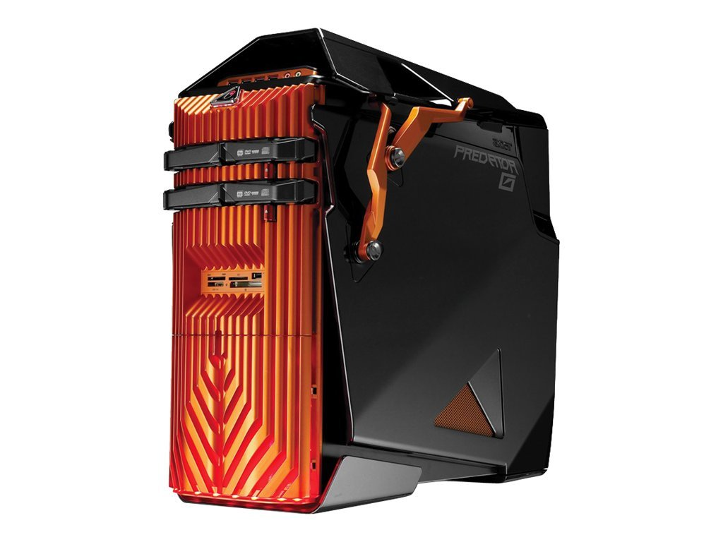 Acer Aspire Predator AG7750-U3222 Gaming Desktop Core i7-930 2.8GHz 12GB 1.5TB GTX470 DVD SM GbE W7HP64, AG7750-U3222