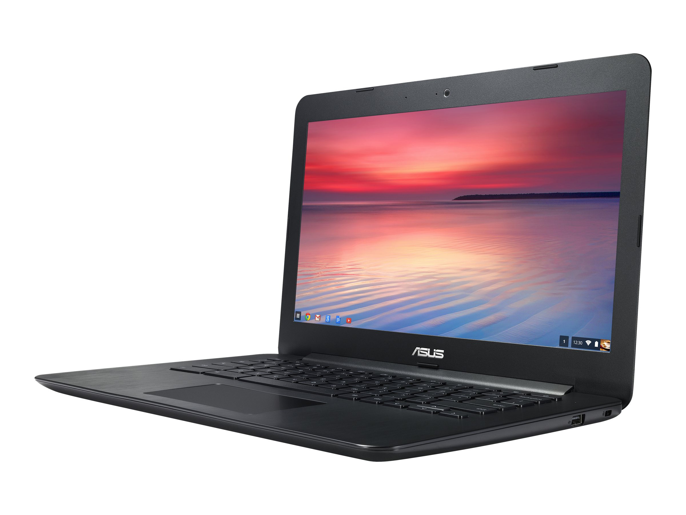 Asus C300MA-DH02 Celeron N2830 2.16GHz 4GB 16GB ac BT WC 3C 13.3 HD Chrome OS, 90NB05W1-M00600, 18019818, Notebooks
