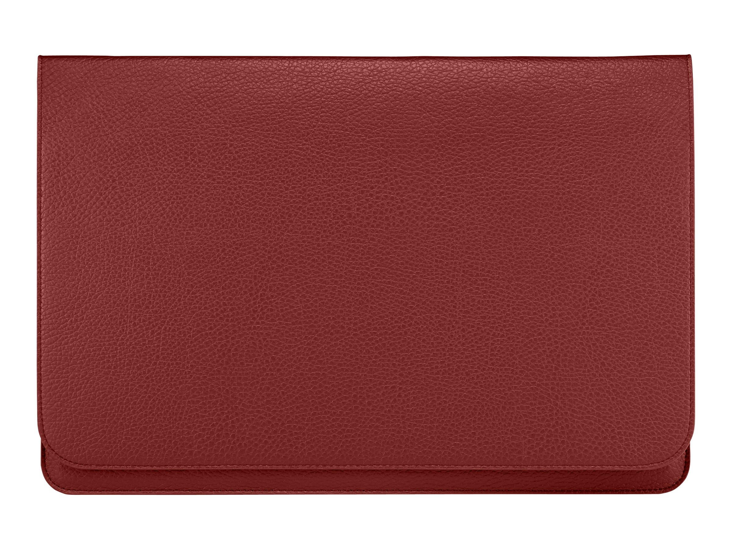 Samsung Ultrabook 13.3 Leather Pouch, Red, AA-BS8N13R/US, 15314379, Carrying Cases - Notebook