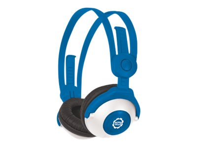 Kidz Gear Bluetooth Wireless Headphones, Blue, BT68KG04