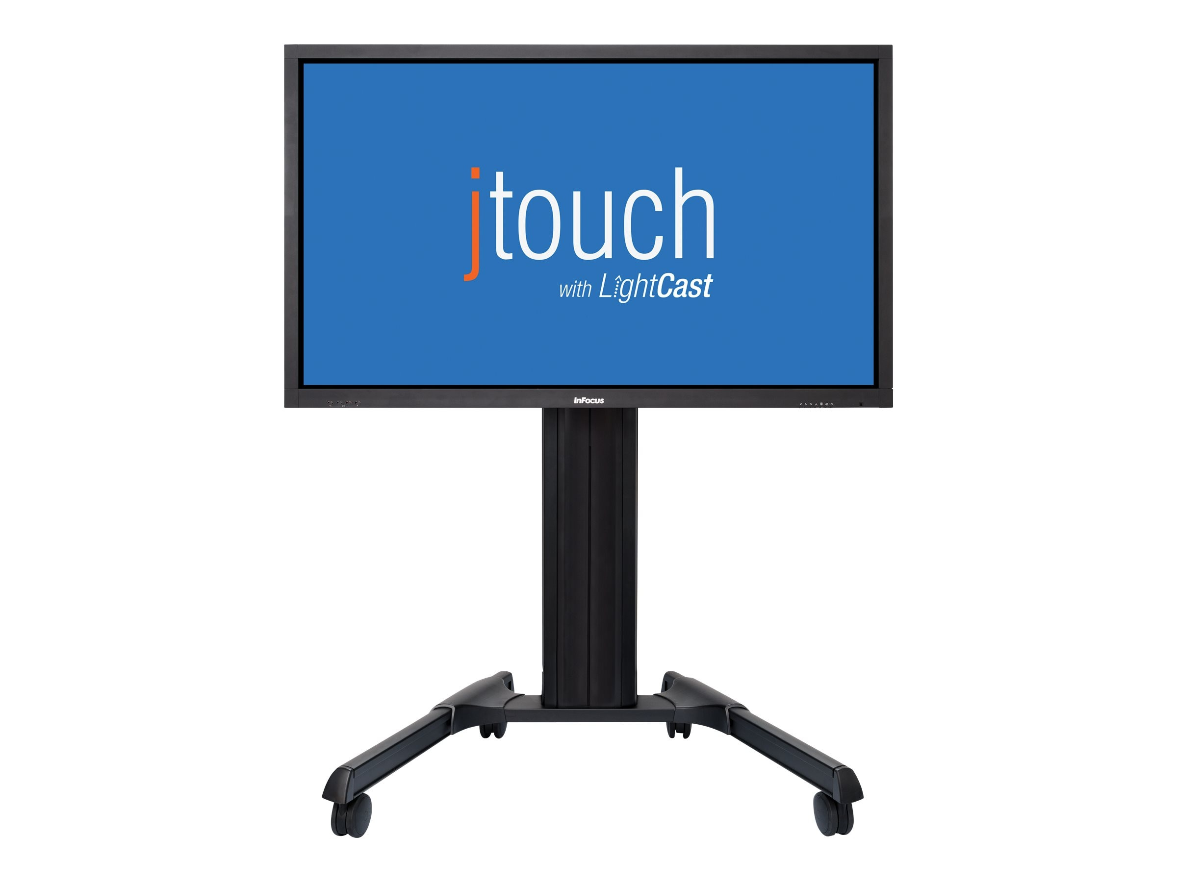 InFocus 65 JTouch Full HD LED-LCD Interactive Whiteboard with Wireless Collaboration, Black
