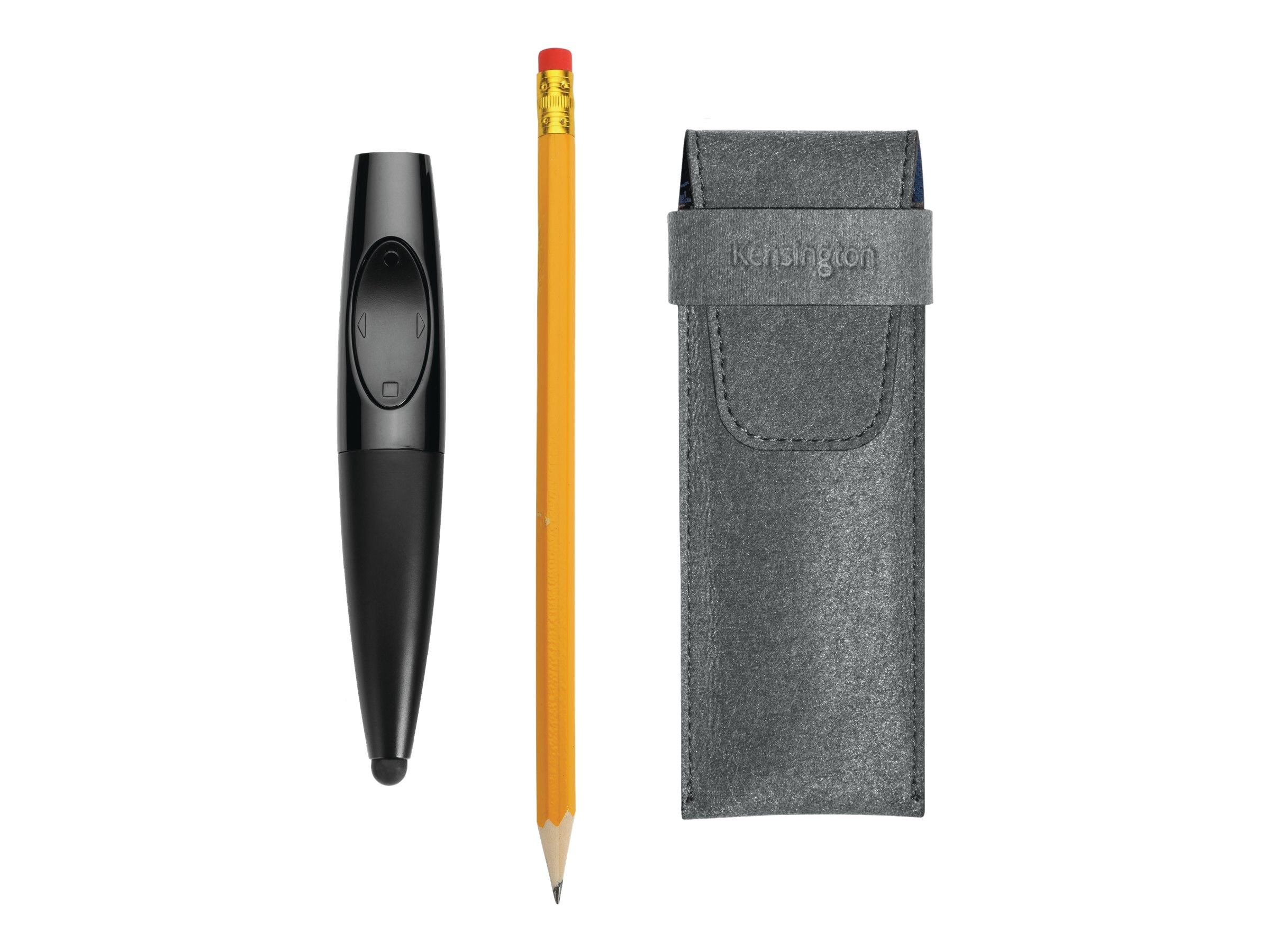 Kensington Presentair Bluetooth Presentation Remote with Red Laser and Stylus, K39524US