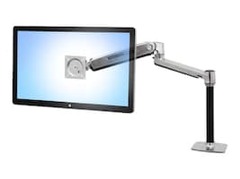 Ergotron LX HD Sit-Stand Desk Mount LCD Arm, 45-384-026, 16487933, Stands & Mounts - AV