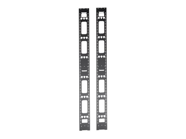 Tripp Lite 48U Server Cabinet Vertical Cable Management Bars, SRVRTBAR48, 15755502, Rack Cable Management