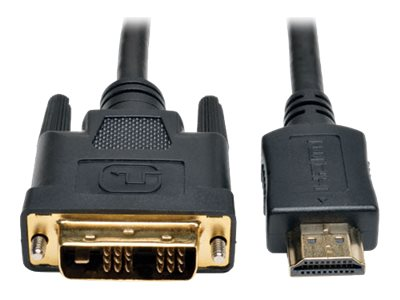 Tripp Lite HDMI to DVI M M Digital Monitor Cable, Black, 20ft, P566-020, 18401507, Cables