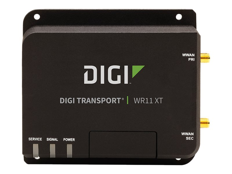 Digi Transport WR11, LTE HSPA Fallback, Includes Antenna And North America Power Supply, WR11-L600-DE1-XU
