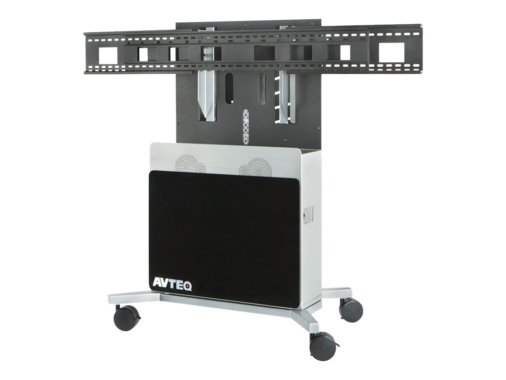 Avteq Elite Cart Stand for Single Displays up to 80