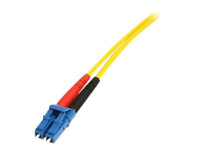 StarTech.com LC-SC Single Mode Duplex Fiber Patch Cable, 7m, SMFIBLCSC7