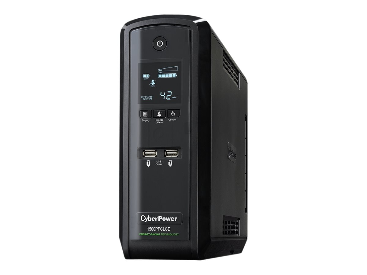 CyberPower 1500VA 900W PFC Compatible Pure Sine Wave UPS