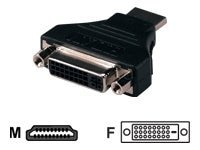 QVS HDMI (M) to DVI (F) High Speed Adapter, HDVI-MF, 15528094, Cables