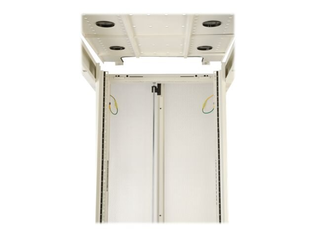 Tripp Lite 42U SmartRack Premium Enclosure w o Side Panels, White, SR42UWEXP