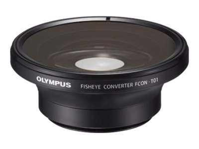 Olympus FCON-T01 Fish-Eye Converter, V321190BW000, 16211419, Camera & Camcorder Lenses & Filters