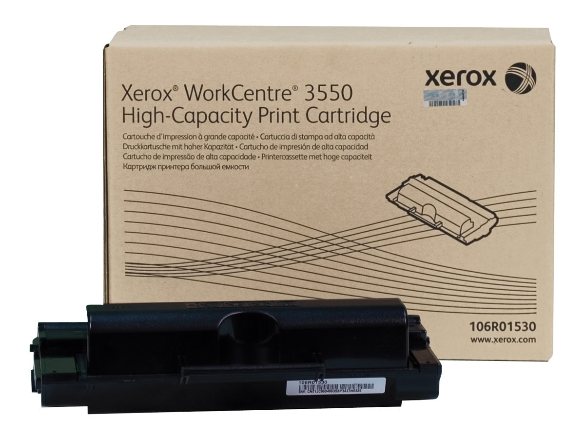 Xerox Black High Capacity Toner Cartridge for WorkCentre 3550, 106R01530