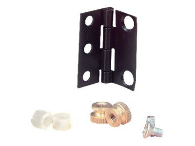 Black Box Patch Panel Hinge Kit, 1U, RMT011, 9678723, Rack Mount Accessories