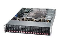 Supermicro SuperChassis 216BA 2U RM (2x)Intel AMD Family 24x2.5 HS SAS SATA Bays 7xExpansion Slots 2x920W RPS, CSE-216BA-R920WB, 15253692, Cases - Systems/Servers
