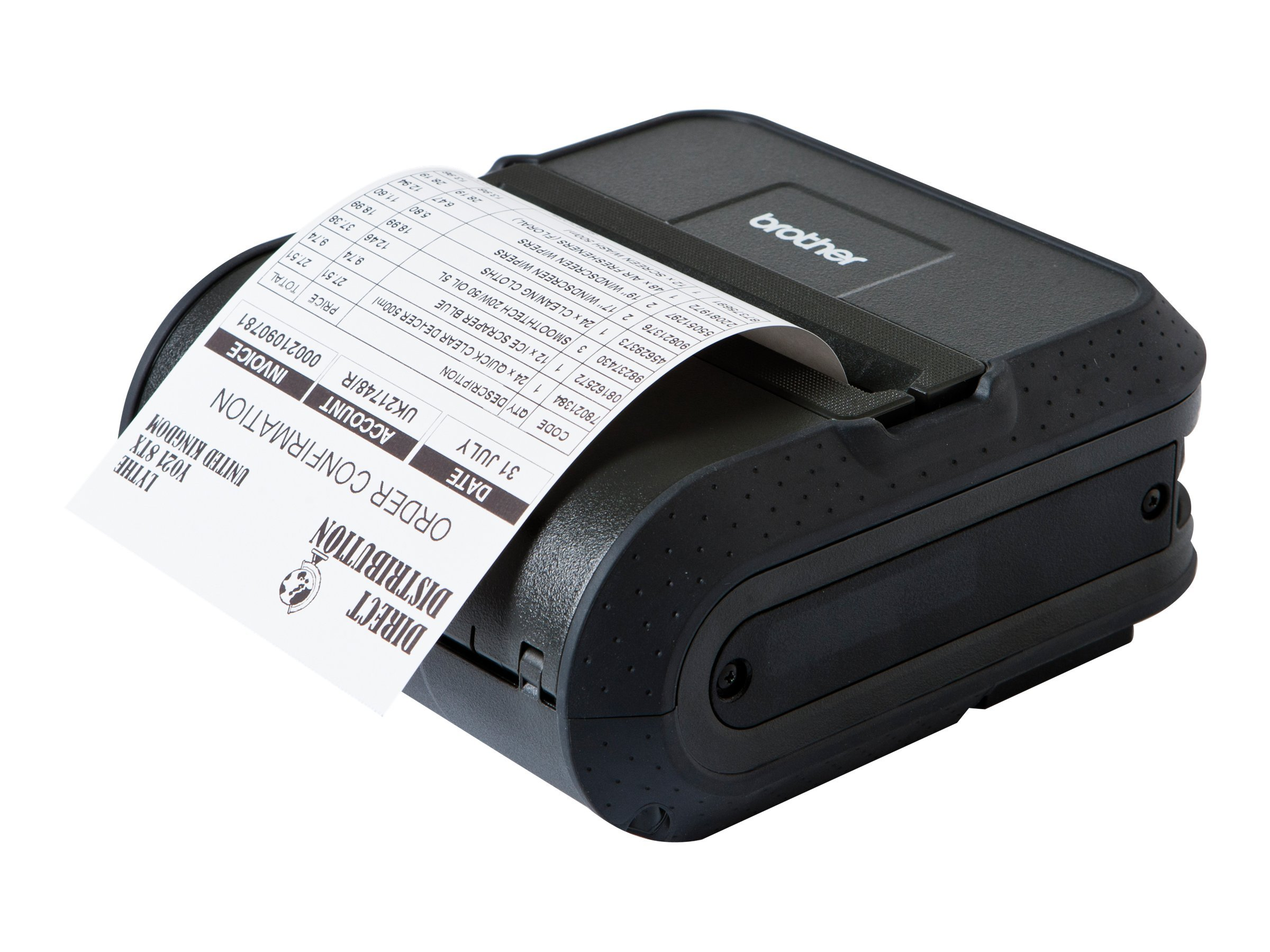 Brother RuggedJet 4040 Mobile Printer w  Wi-Fi & Battery, RJ4040-K, 13543186, Printers - Label