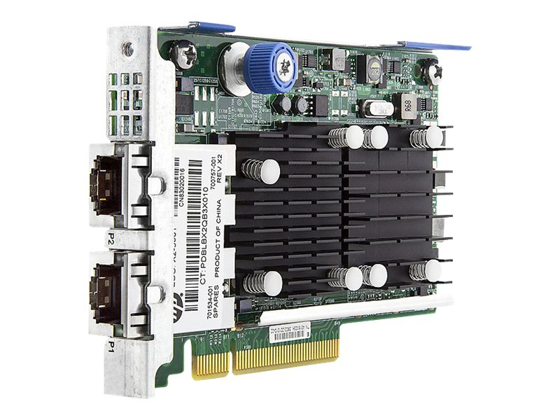 HPE FlexFabric 10Gb 2-port 533FLR-T Adapter, 700759-B21, 16435181, Network Adapters & NICs