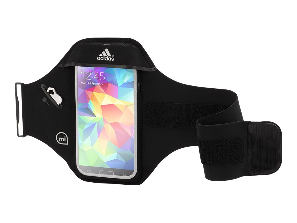 Griffin Adidas Universal Armband 2 for iPhone iPod Touch, Black, GB04201-2, 17501645, Carrying Cases - Phones/PDAs