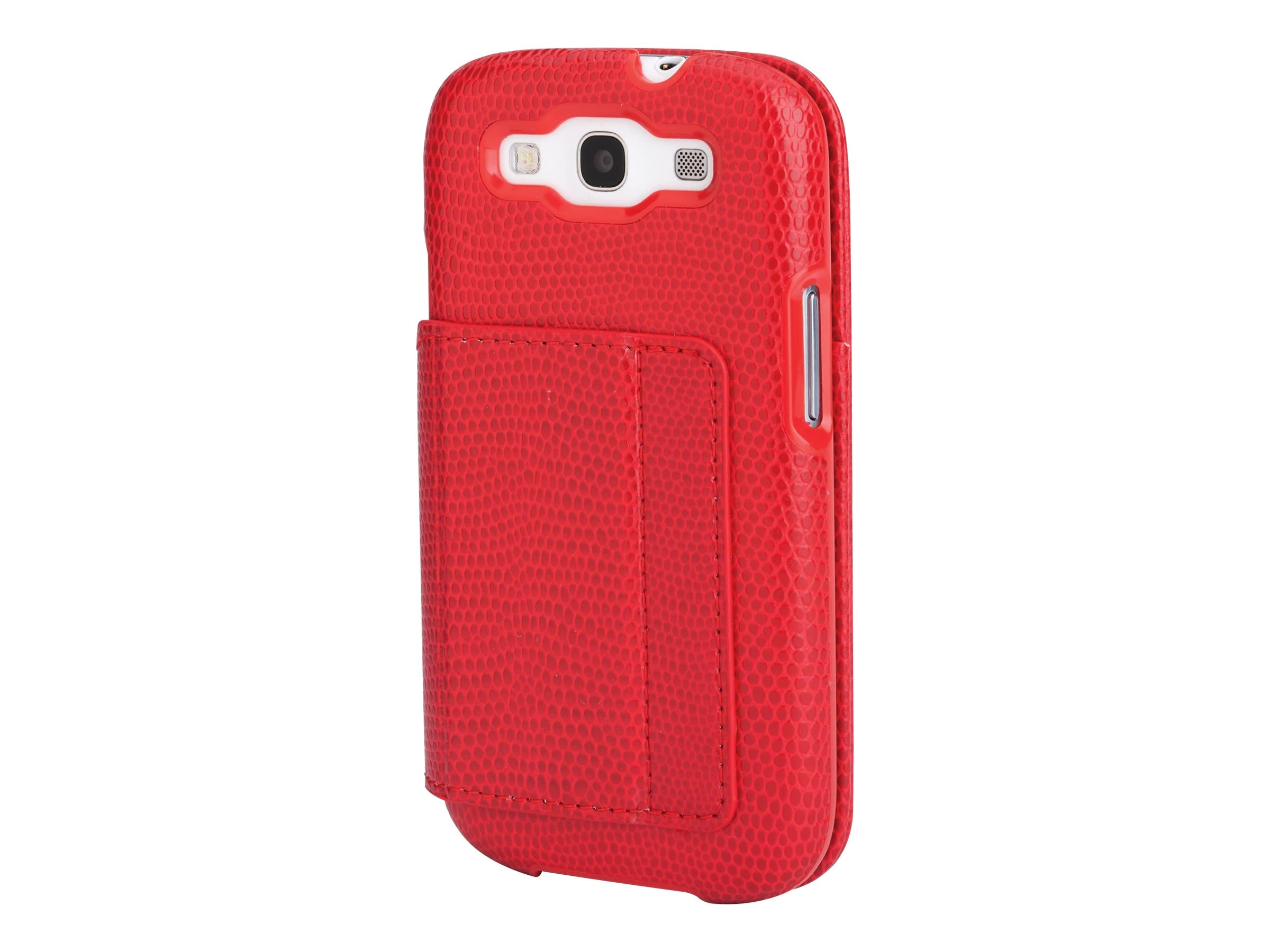 Kensington Portafolio Duo Wallet for Samsung Galaxy S III, Red Snake, K39613WW