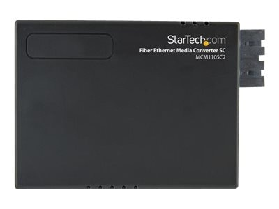 StarTech.com Fiber to Ethernet Media Converter RJ45 to SC 2KM, MCM110SC2