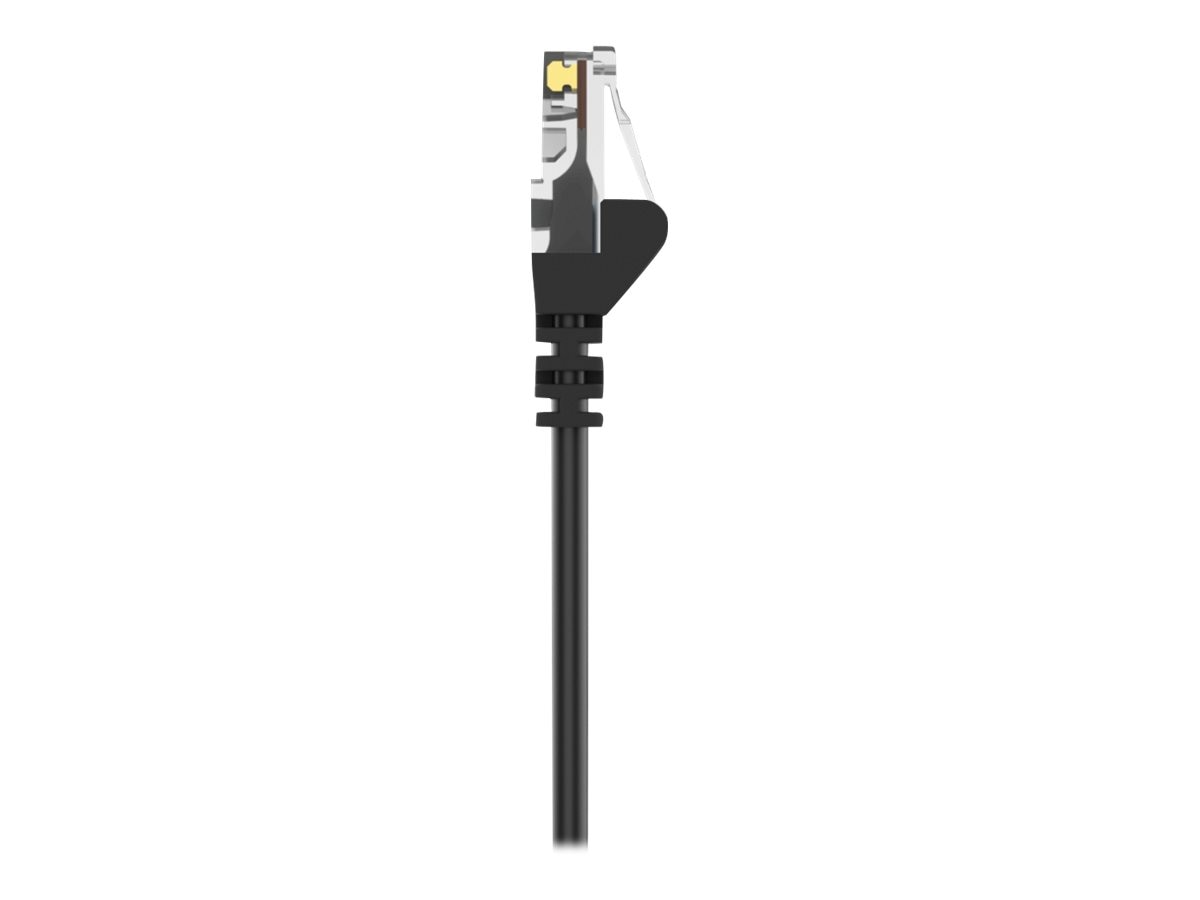 Belkin Cat5e Snagless Patch Cable, Black, 3ft, A3L791-03-BLK-S