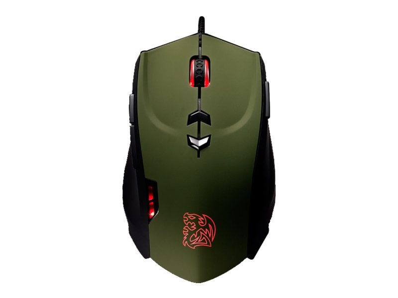 Thermaltake Tt eSPORTS Theron Mouse, MO-TRN006DTK, 15460860, Mice & Cursor Control Devices