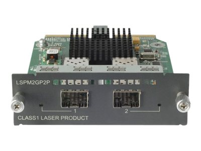 HPE 2Pt. GETH SFP A5500 E4800 Module, JD367A, 11617495, Network Device Modules & Accessories