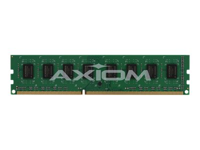 Axiom 4GB PC3-8500 DDR3 SDRAM UDIMM Kit, TAA, AXG23592789/2, 15029308, Memory