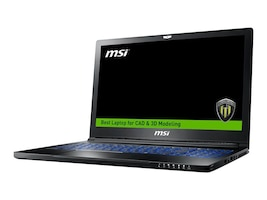MSI WS63 7RK-280US Mobile Workstation Core i7-7700HQ 16GB, WS63280, 33654027, Workstations - Mobile
