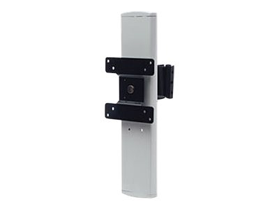 Rubbermaid Tilting Height Adjustable Monitor Bracket for 8-12 lbs Monitors, 4172200, 20018662, Cart & Wall Station Accessories