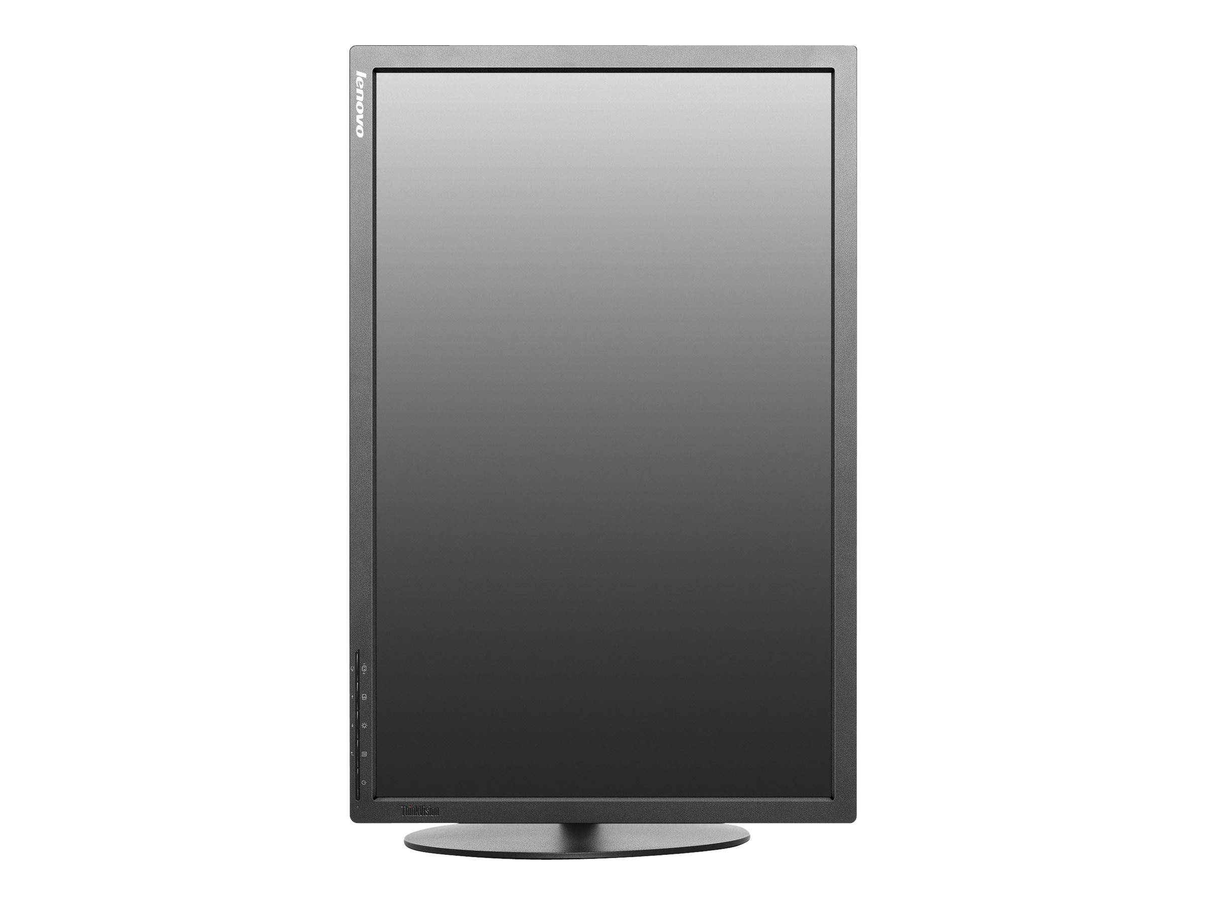 Lenovo 24 ThinkVision T2454p LED-LCD Monitor, Black, 60F9MAR1US