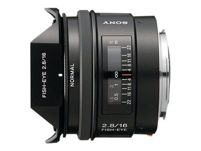 Sony 16mm f2.8 Fisheye Lens, SAL16F28