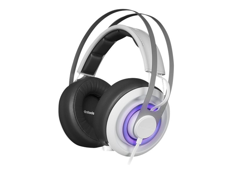 Steelseries Siberia 650 Headset - White, 51192, 30857195, Headsets (w/ microphone)