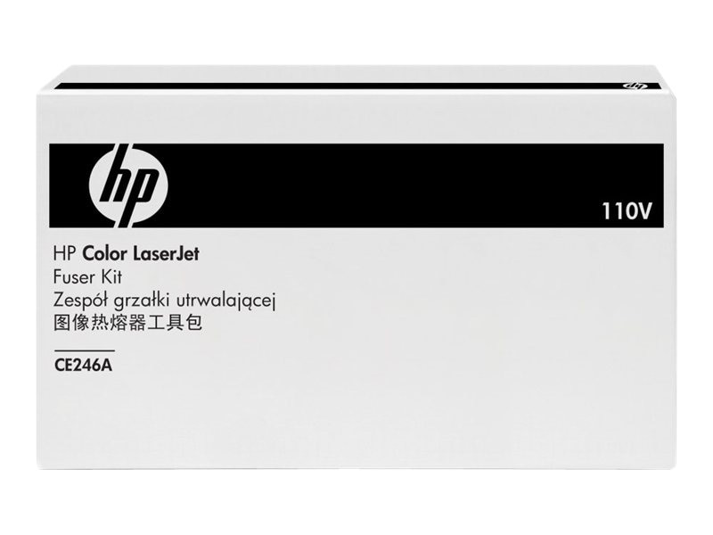 HP Color LaserJet 110V Fuser Kit, CE246A, 10807115, Printer Accessories