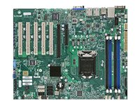 Supermicro Motherboard, Haswell UP X10SLA-F, MBD-X10SLA-F-O, 15792240, Motherboards
