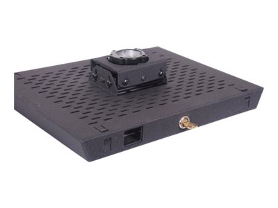 Chief Manufacturing RPA Projector Security Mount (Lock C), Black