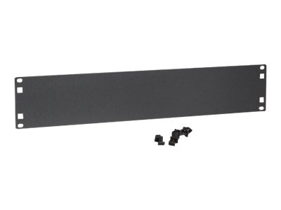 Kendall Howard 2U Flat Spacer Blank, 1901-1-101-02, 8262241, Rack Mount Accessories