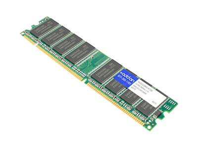 Add On 1GB PC2100 266MHz 184-pin CL2.5 DDR SDRAM DIMM, AA32C12864-PC266, 7745646, Memory