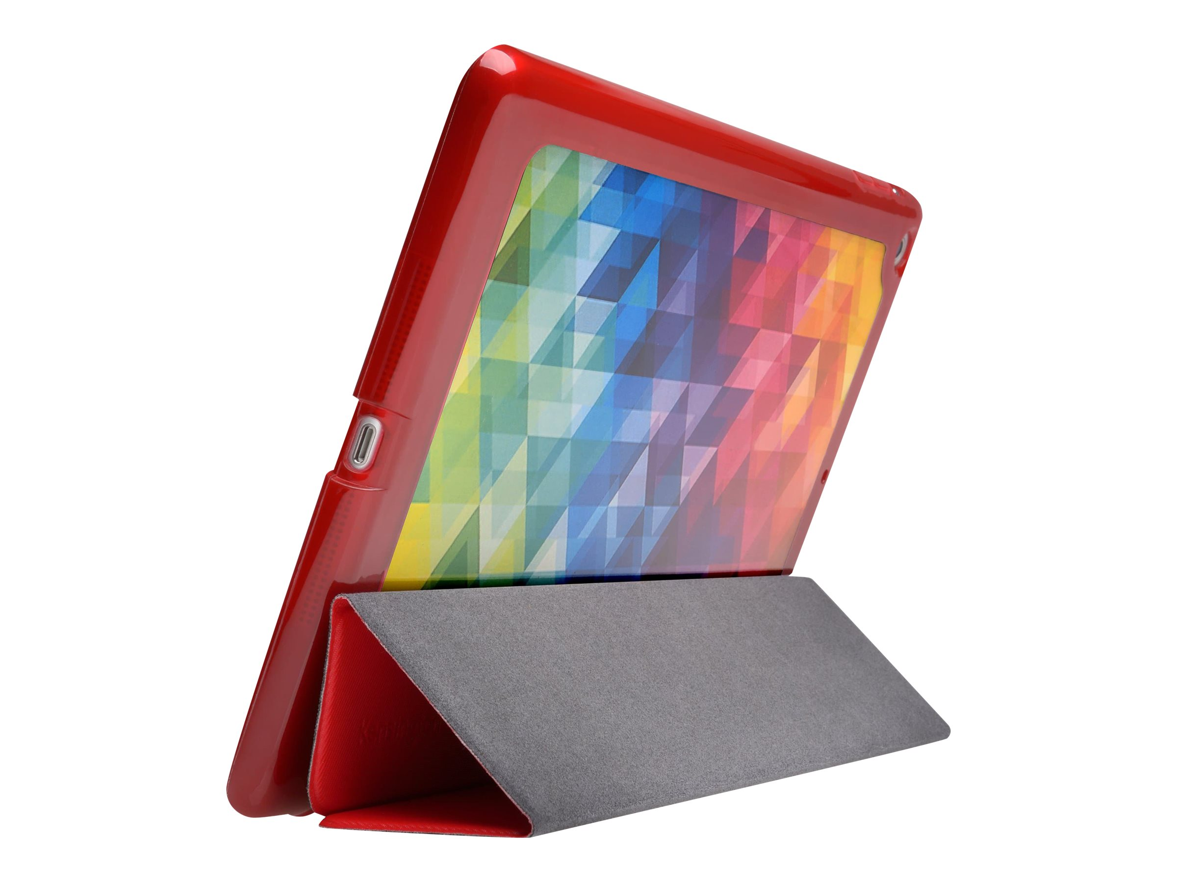 Kensington Comercio Me Customizable Folio Case for iPad Air, Red
