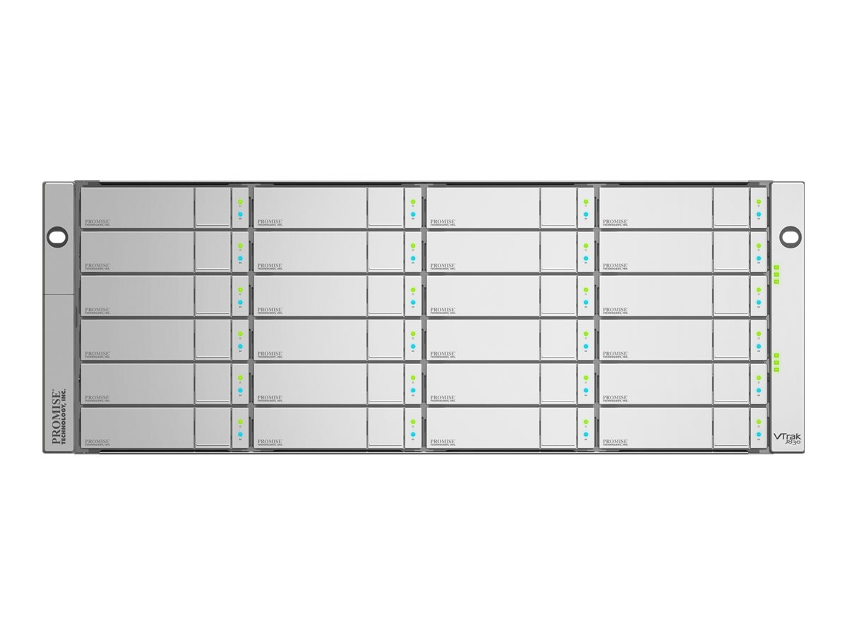 Promise X30 Series 4U 24-Bay 8 x 2TB FC 8Gb s Single Controller RAID NL Storage, E830FSQS