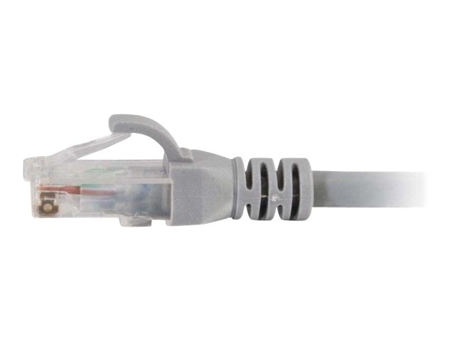C2G Cat6 Snagless Patch Cable, Gray, 75ft- TAA