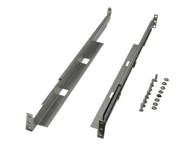 Tripp Lite Universal Adjustable Rackmount Shelf Kit, 1U, 4POSTRAILKIT1U, 15153051, Rack Mount Accessories