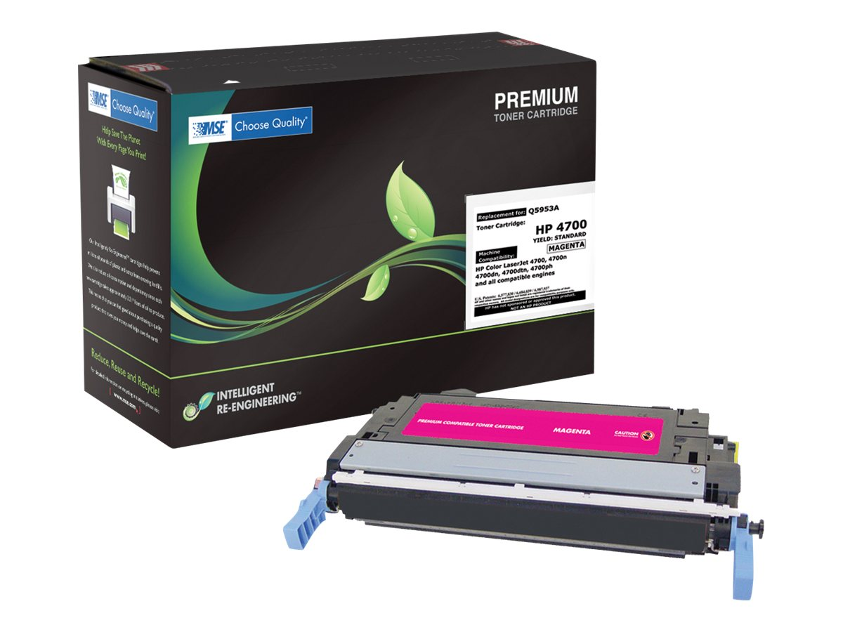 Q5953A Magenta Toner Cartridge for HP LaserJet 4700, 02-21-50314