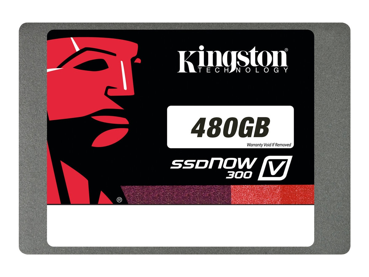 Kingston 480GB SSDNow V300 SATA 6Gb s 2.5 Internal Solid State Drive, SV300S37A/480G, 16374154, Solid State Drives - Internal