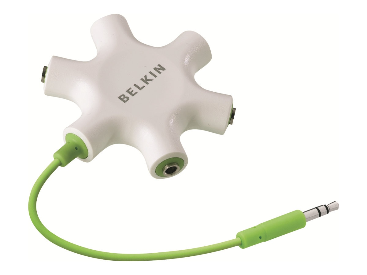 Belkin RockStar Multi Headphone Splitter, F8Z274BT