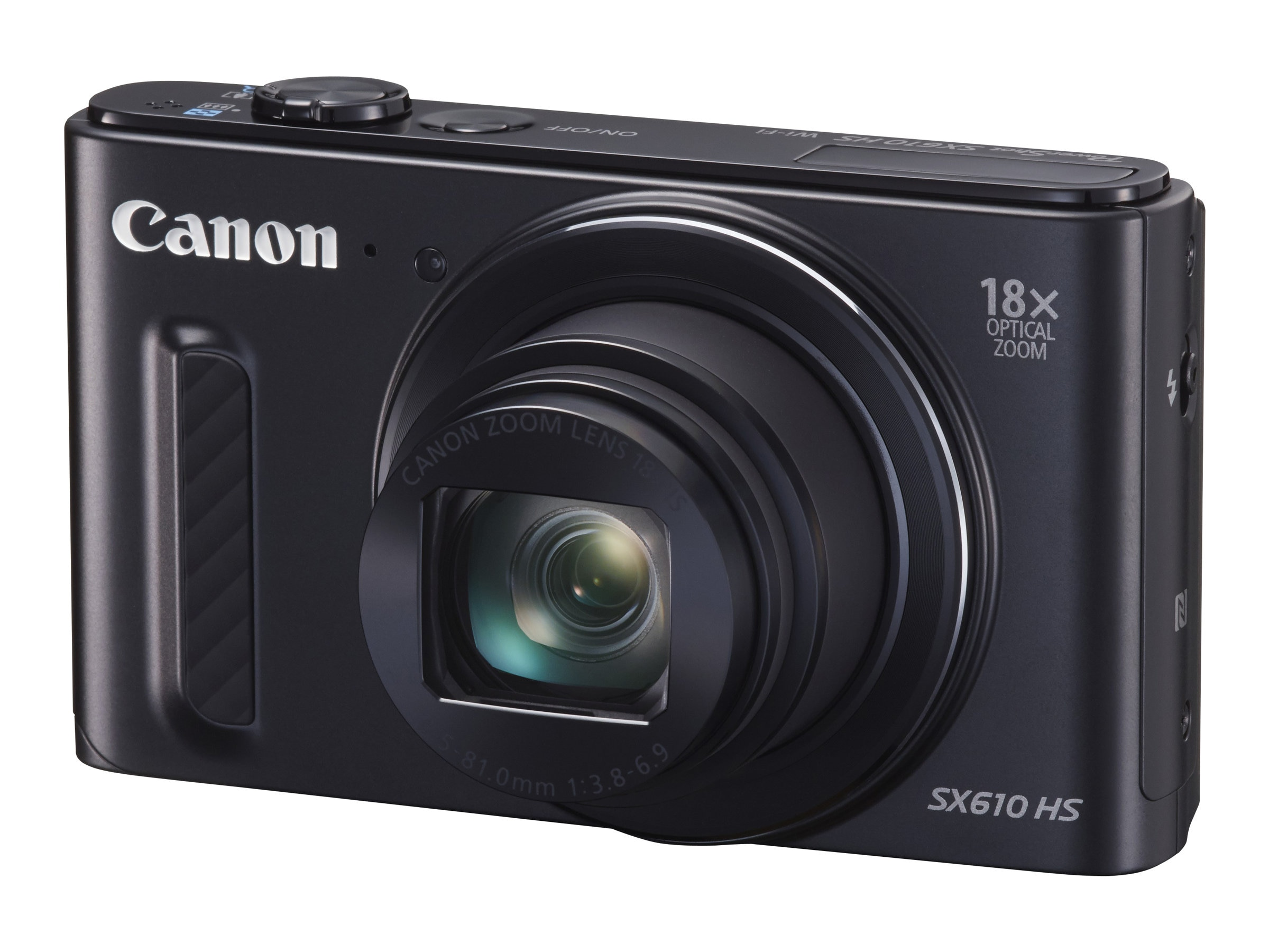 Canon Powershot SX610 HS Camera, 20.2MP, 18x Zoom, Black, 0111C001, 18524275, Cameras - Digital - Point & Shoot