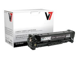 V7 CC530A Black Toner Cartridge for HP LaserJet CP2025 (TAA Compliant), THK22025, 13714918, Toner and Imaging Components